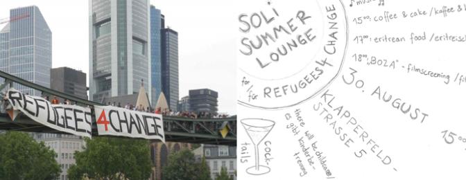 Soli-Summerlounge für Refugees for Change am 30. August
