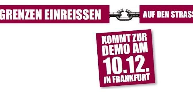 GLEICHE RECHTE FÜR ALLE! – Demo am 10.12. um 17h in Frankfurt