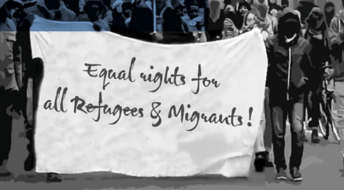 "Refugees for Change Demonstration on February 3rd in Gießen: ""Why are the Somalis excluded from the German courses?"""