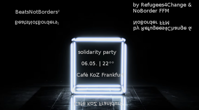 Party: BeatsNotBorders² | 06.05. | Café KoZ