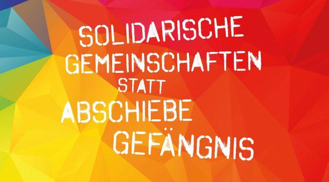 20.1.18 Demo gegen Abschiebeknast in Darmstadt
